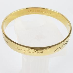 kate spade bracelet bridesmaid idiom bangle